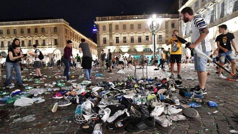 Пострадавшие во время давки в Турине - фото 1