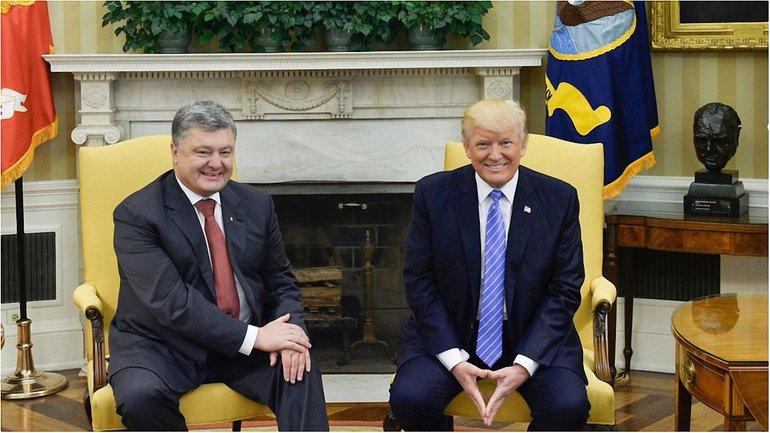 Порошенко встретился с Трампом в Белом доме - фото 1
