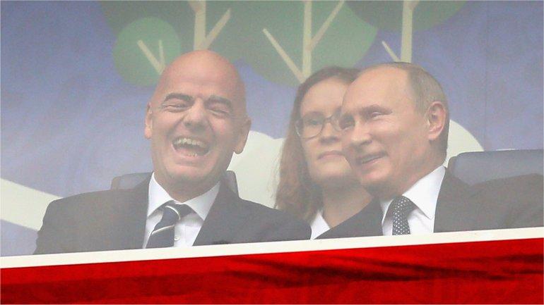 Глава ФИФА Джанни Инфантино узнает о новом витке санкций против России - фото 1