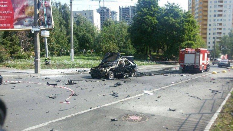 За рулем автомобиля находился один из командиров спецназа ГУРа - фото 1