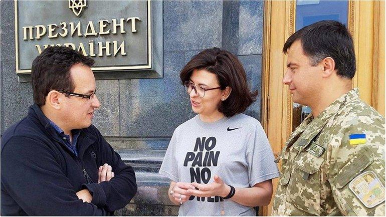 Оксана Сироїд підтримала колег по партії та мешканців Львова - фото 1