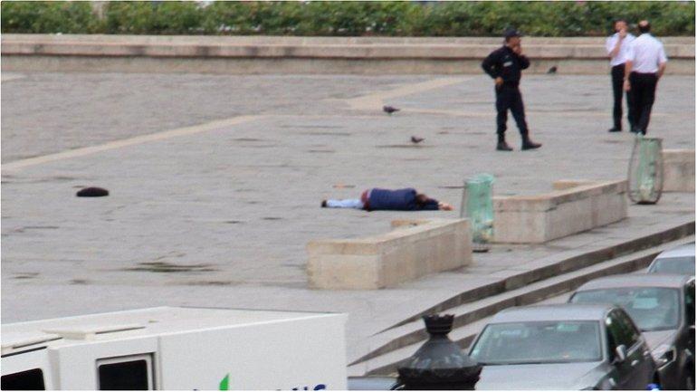 Полиция нейтрализовала нападавшего - фото 1