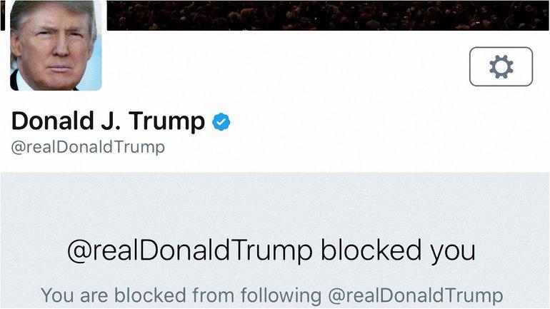 Трамп закрыл страницу от своего критика - фото 1
