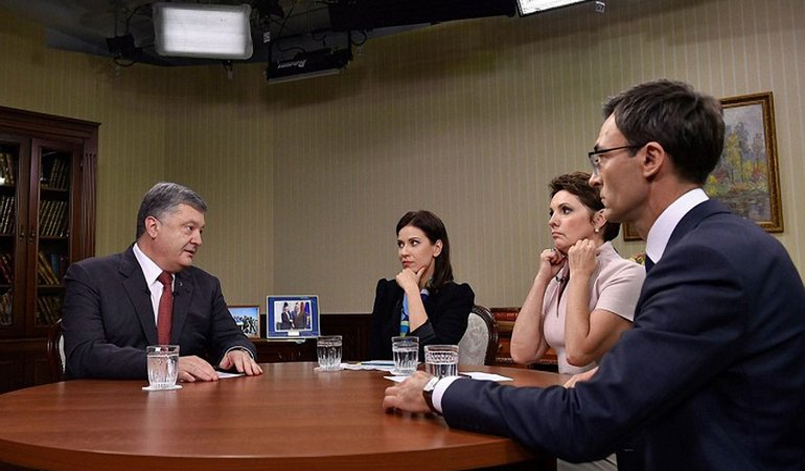 Интервью президента - фото 1