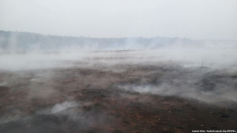 Пожар торфяников - фото 1