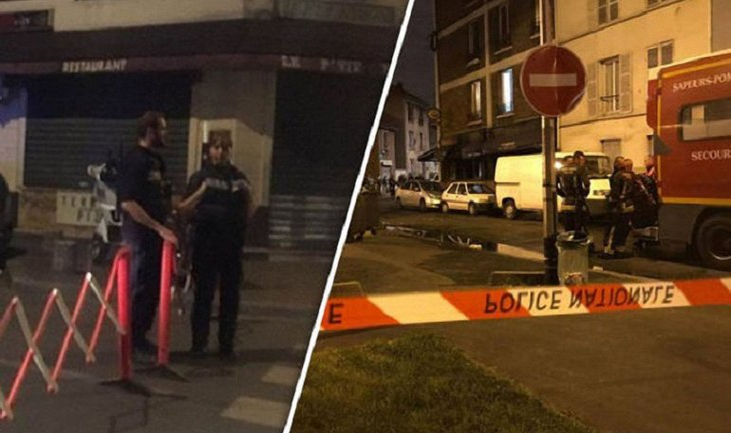 Парижский ресторан подожгли коктейлем Молотова, 12 человек пострадало - фото 1