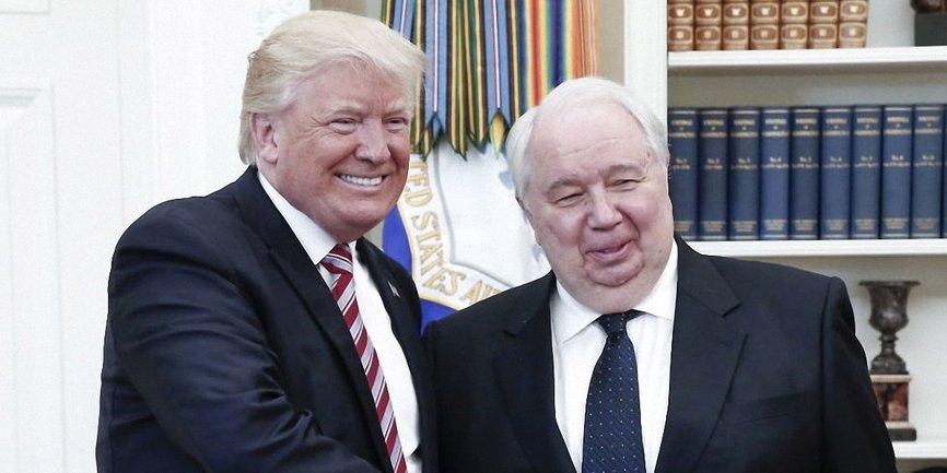 Посол РФ в США Сергей Кисляк на встрече с Трампом - фото 1