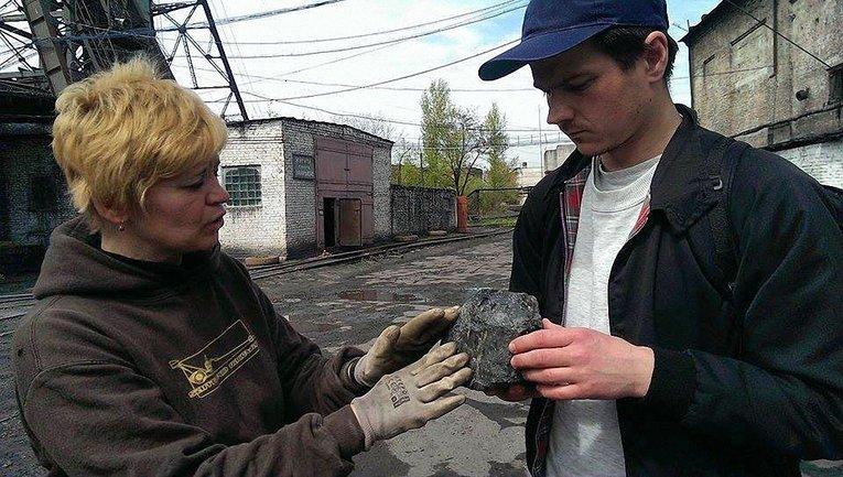 Художник взял уголь в Червонограде - фото 1