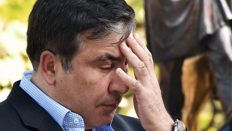У Саакашвили закончились деньги для предоплаты своей программы на Zik - фото 1