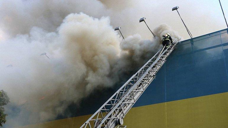 Причину пожара пока не нызвают - фото 1