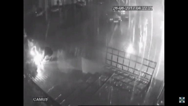"""Нападение на офис """"Батькивщины"""" в Киеве - фото 1"""