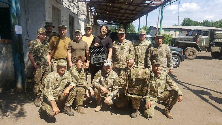 Притула встретился с военными ВСУ - фото 1