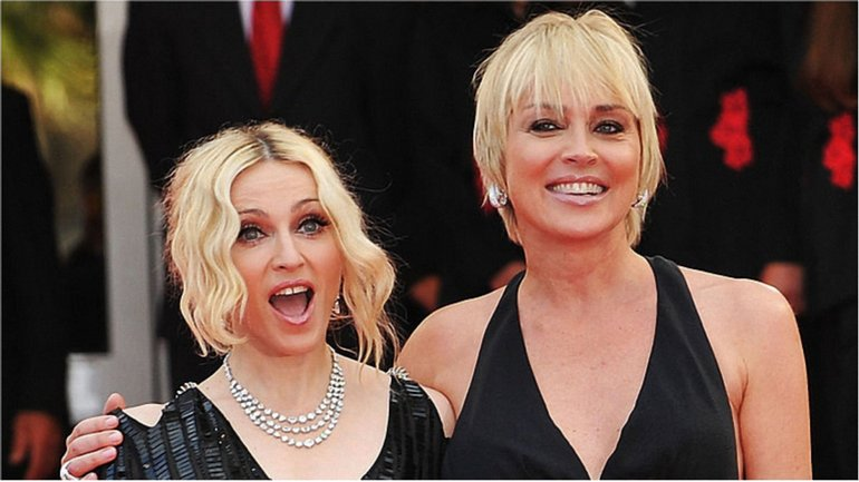 Шэрон Стоун и Мадонна - фото 1