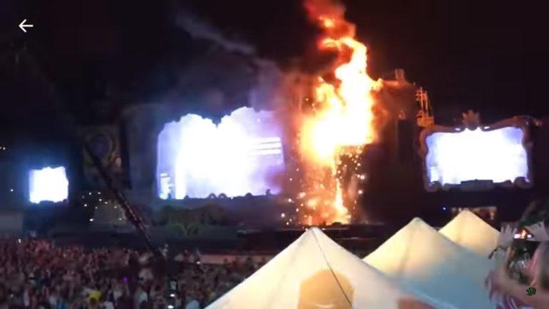 О жертвах пожара на фестивале в Барселоне не известно - фото 1