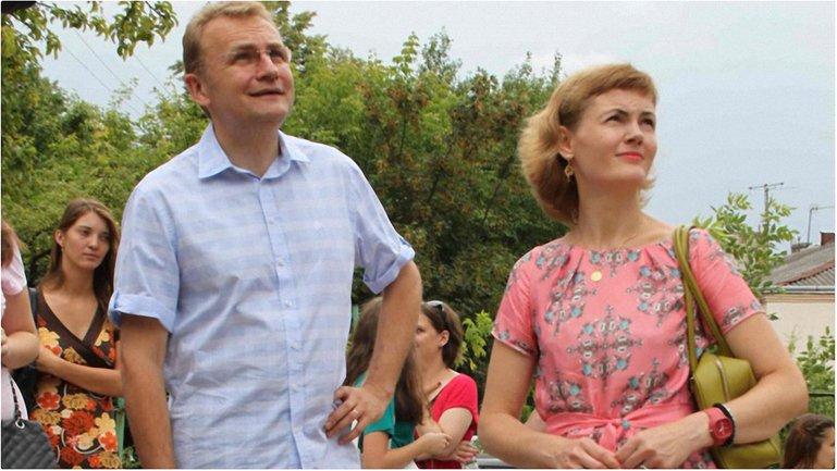 Мэр Львова с женой: фото - фото 1