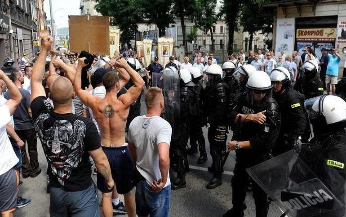 Поляки помешали украинцам провести свое мероприятие  - фото 1