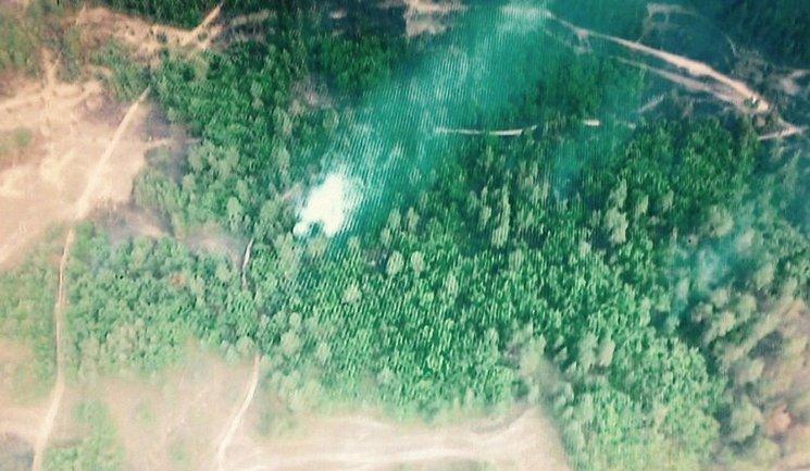 Пожар на военном полигоне до сих пор не потушили - фото 1