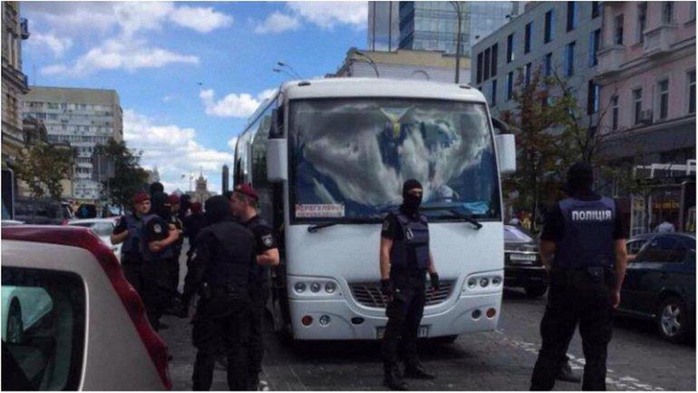 В Киеве задержали провокаторов - фото 1