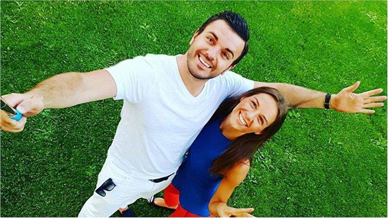 Григорий Решетник с женой Кристиной - фото 1