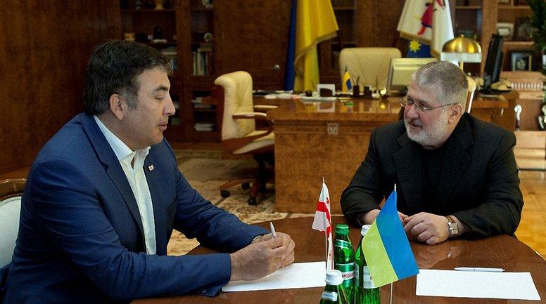 Коломойский вступился за Саакашвили - фото 1