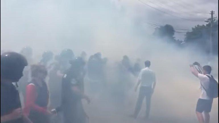 Один из активистов был агрессивно настроен - фото 1