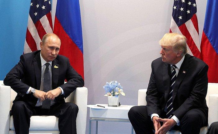 Президенты встретились в Германии - фото 1