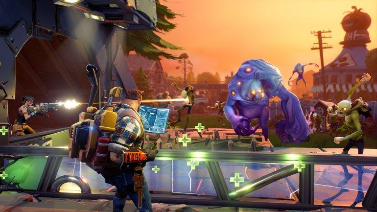 Новая игра Fortnite от Epic Games  - фото 1