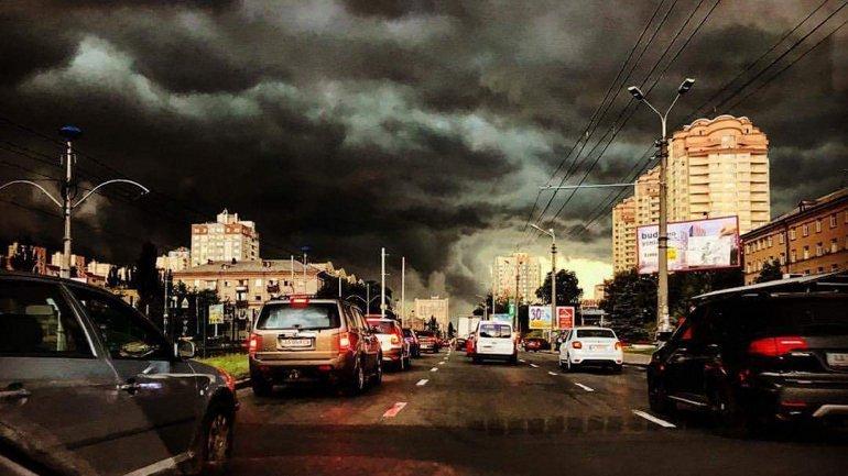 В Киеве ожидаютсягрозы - фото 1