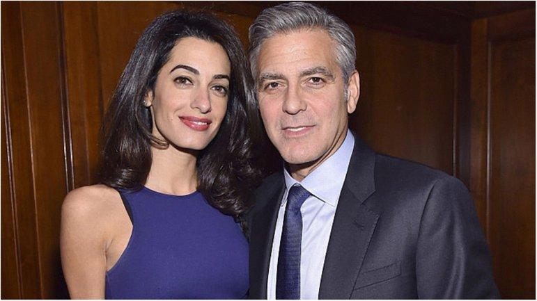 Амаль и Джордж Клуни - фото 1