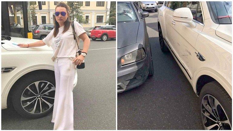 Кильчицкая попала в аварию - фото 1
