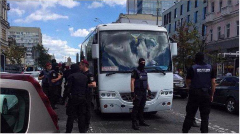 Задержание провокаторов в Киеве - фото 1