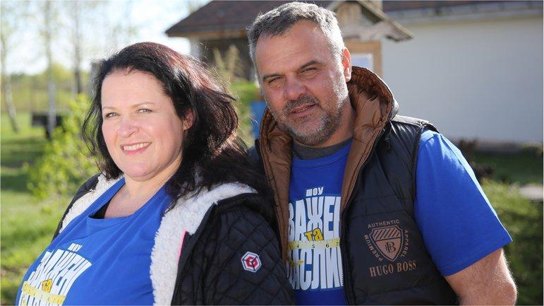 Зважені та щасливі 7 сезон: Руслана Писанка с мужем - фото 1