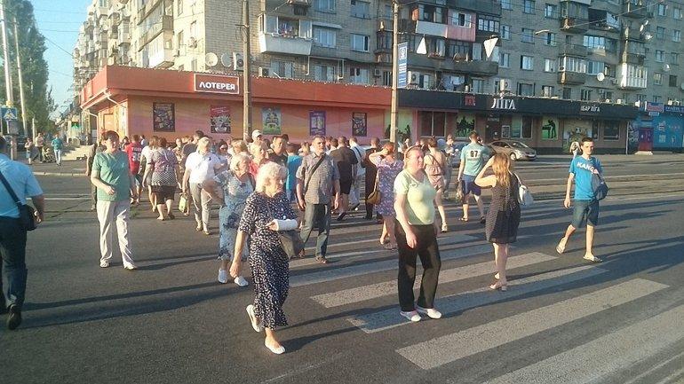 Харьковское шоссе перекрыто, а власти Киева могут решить проблему лишь временно - фото 1