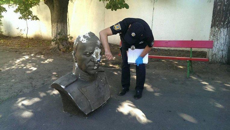 Памятник Жукову обнаружили в центре - фото 1