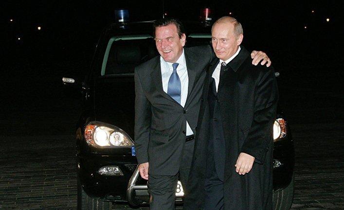 Герхард Шредер - давний друг Путина - фото 1