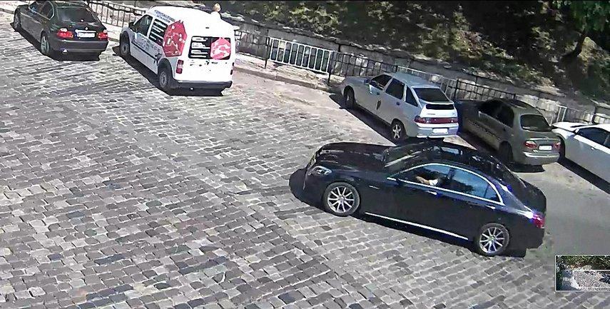 Петр Дыминский за 40 минут до трагедии был за рулем авто - фото 1