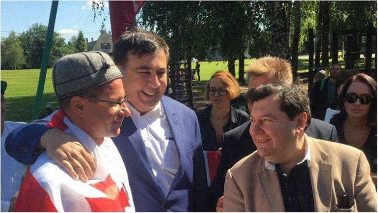 Братская страна: Саакашвили сообщил свое местонахождение - фото 1