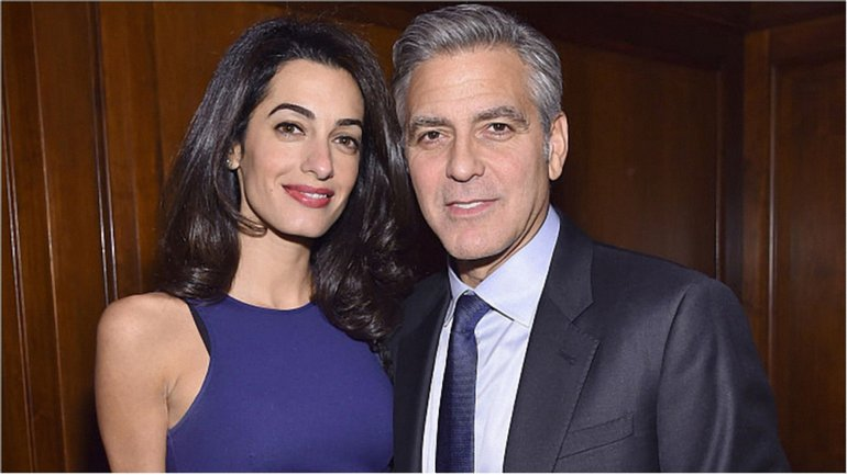 Джордж и Амаль Клуни - фото 1