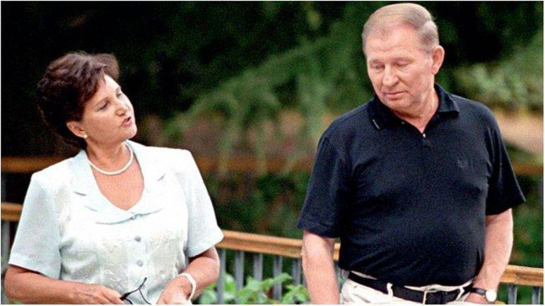 Леонид Кучма с женой: фото - фото 1