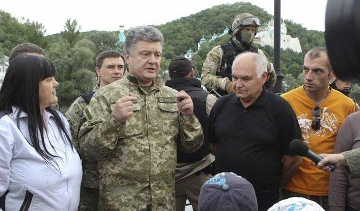 Петр Порошенко отправился в Донецкую область - фото 1