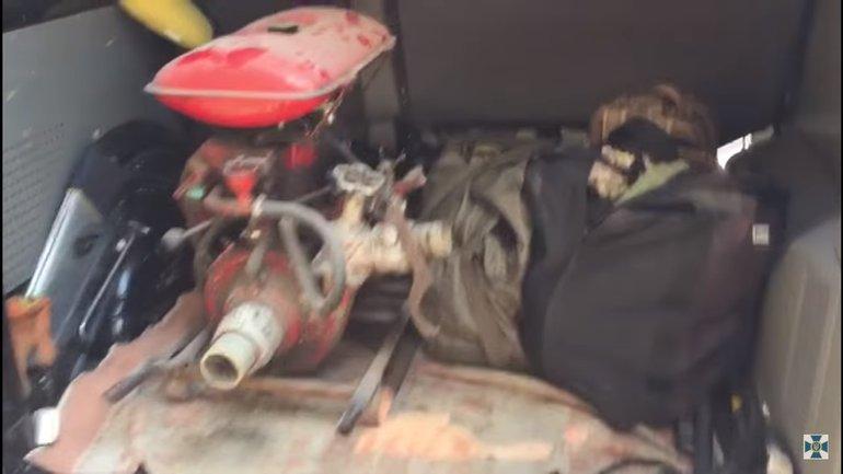 У контрабандистов нашли мотопому - фото 1