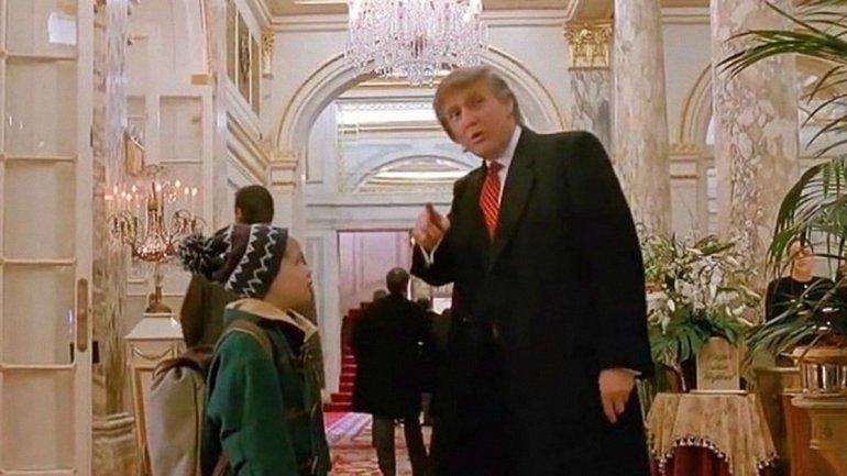 Трамп любит сниматься в кино - фото 1