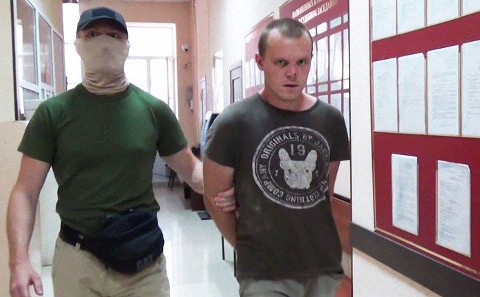Лемешко задержали оккупанты Крыма  - фото 1