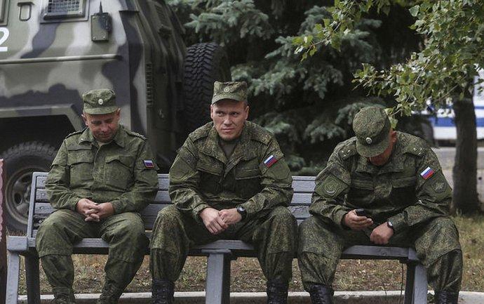 Российские военные проводят спецоперацию по отлову дезертиров - фото 1