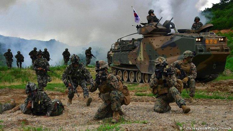 США и Южная Корея начали совместные учения  - фото 1
