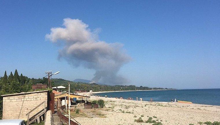 Взрыв в Абхазии  - фото 1
