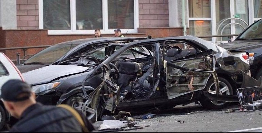 Машина Махаури взорвалась вечером 8 сентября - фото 1