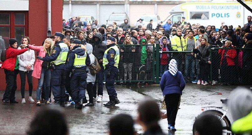 Марш неонацистов: в Швеции произошли столкновения - фото 1