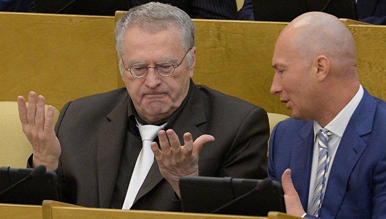 Сын Жириновского оказался таким же бессовестным маргиналом - фото 1