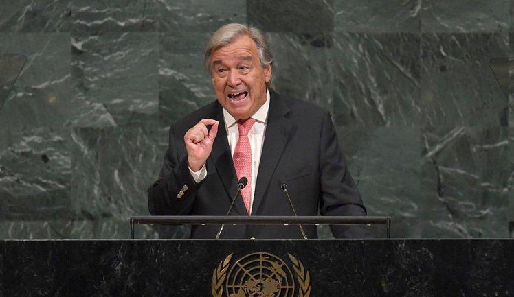 Генеральный секретарь ООН Антониу Гутерриш - фото 1